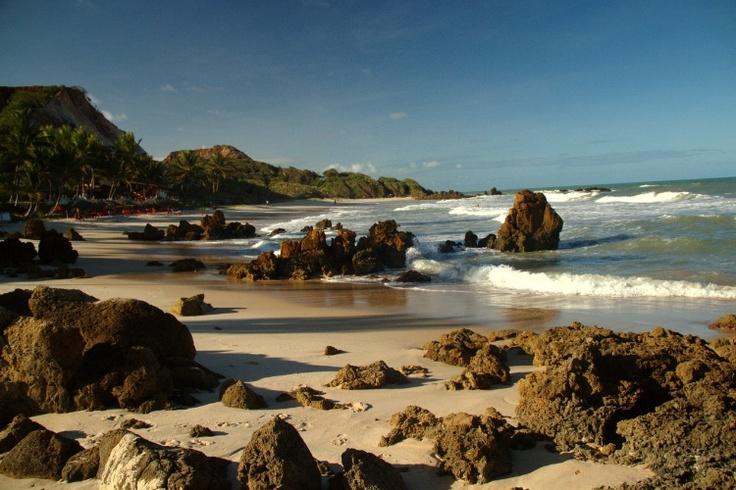 Litoral da Paraíba - Tambaba, praia de naturismo