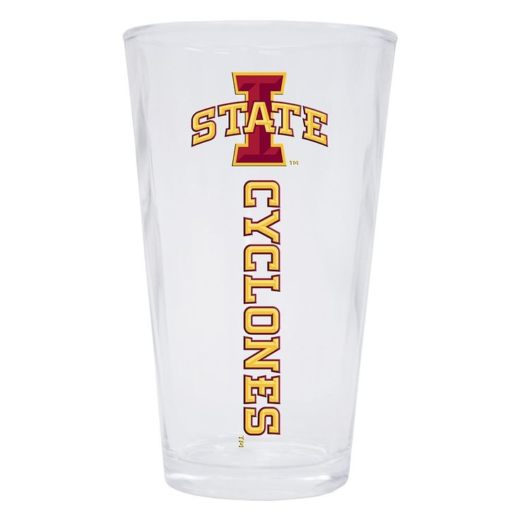 Iowa State Cyclones 2-Pack Pint Glass Set, Multicolor