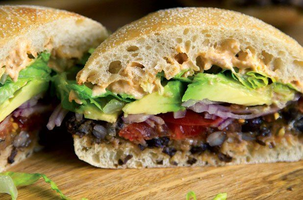 Thug Kitchen Black Bean Torta
