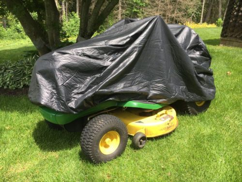 Excellent riding mower cover. Covers my John Deere perfectly