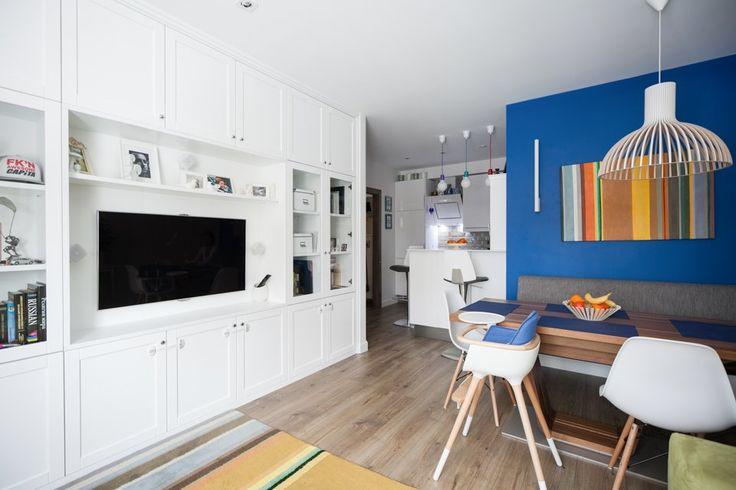 Трёхкомнатная квартира вскандинавском стиле наберегуозера . Изображение №5.