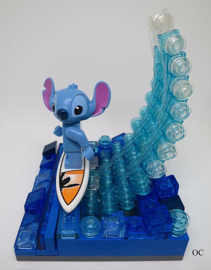 Lego Stitch Minifigures Vignette 8x8