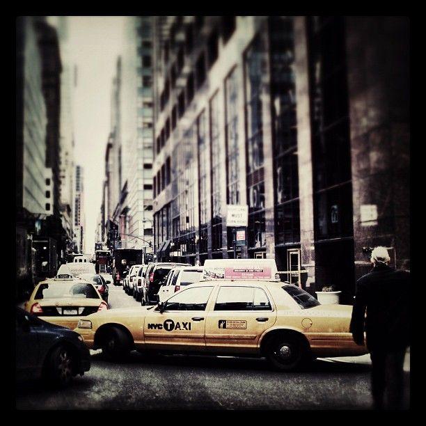 New York traffic.