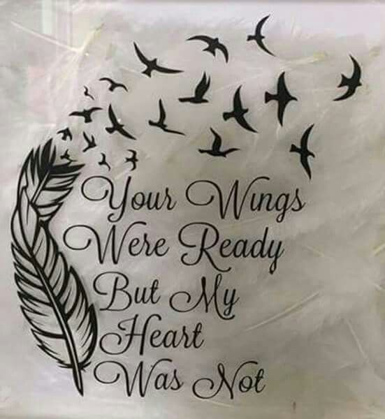 Memorial tattoo, with something other than the feather