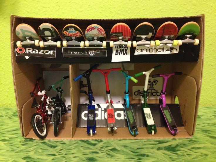"""Tienda de """"finger whip"""" scooter, skate y bmx"""