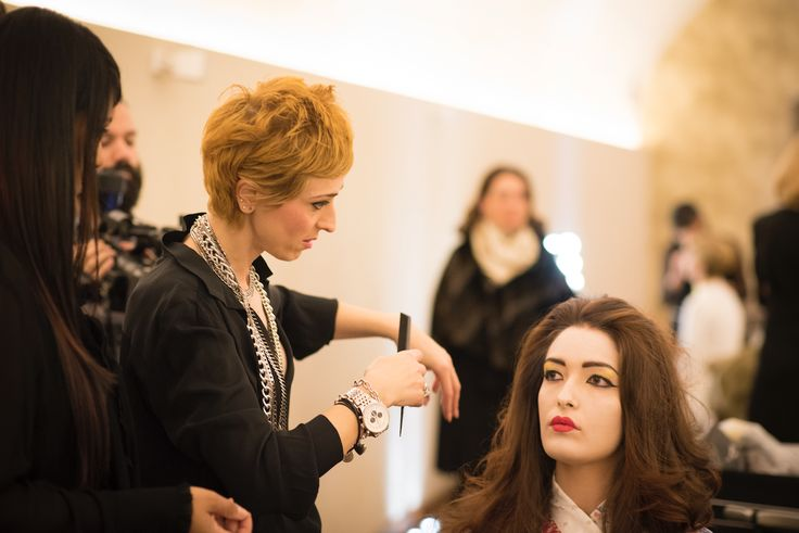 #Picture from Back Stage Happy Hour 2016  #hair #hairdesign #cut #color #parrucchieri #style #tendenzecapelli #capelli #giusydonghia #Japan