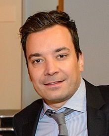 JIMMY FALLON - an American television host, comedian, actor, singer, musician and producer.