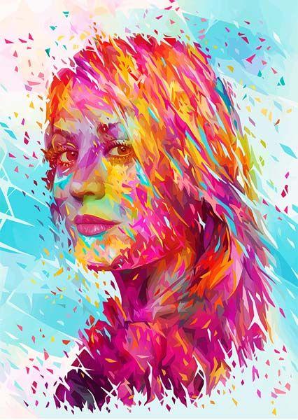 Os retratos vibrantes de Alessandro Pautasso | Just Lia