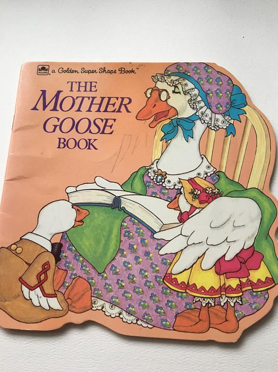 Mother Goose Book Golden Super Shape Book Charming Rhymes Read