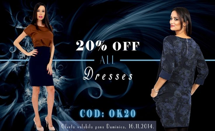 Only for this Weekend ! http://rohboutique.ro/rochii/