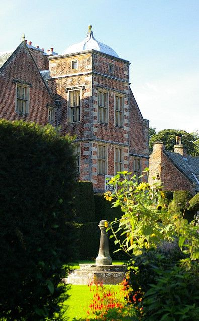 Kiplin Hall, Yorkshire. Kiplin Hall. Yorkshire. A unique gem of Jacobean architecture, with steep gables and towers in the centre of each side of its rectangle topped with octagonal ogival domes. Built of brick and reminiscent of Hatfield, although on a smaller scale. George Calvert, the builder, was Secretary of State to James I. Later Calvert founded the colony of Maryland in America, and named its capital after his peerage, Lord Baltimore. Visit the house and join the HHA here…