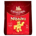 Image for Cathedral City Mild Cheddar Cheese Snack Nibbles 6x16g from Sainsbury's