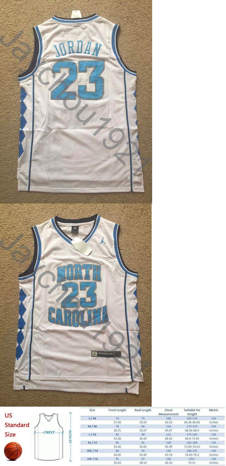 College-NCAA 24541: Michael Jordan North Carolina Tar Heels White Swingman Sewn Jersey Size L-Xl Nwt -> BUY IT NOW ONLY: $34.99 on eBay!