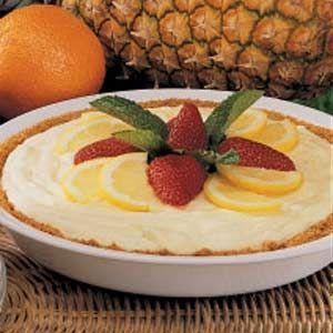 Lemon Pineapple Pie Recipe