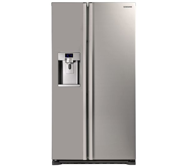 RSG5UUMH American-Style Fridge Freezer - Manhattan Silver