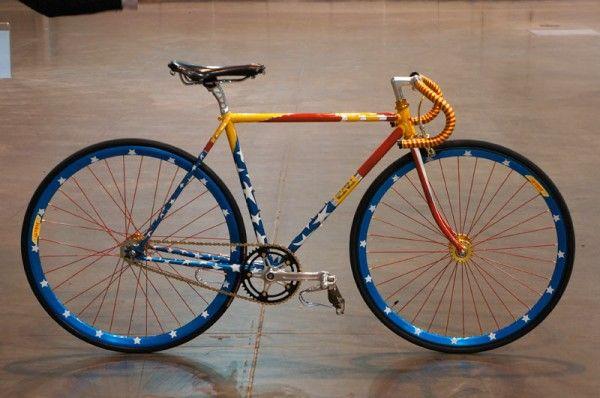 Custom Bicycle Paint NAHBS 2013: Bilenky's Amazing Wonder Woman Track Bike, Plus Best Lugs Winner & More!