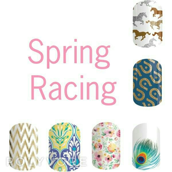 It's spring racing Australia get your nails sorted right here www.jamwithhel.jamberrynails.com