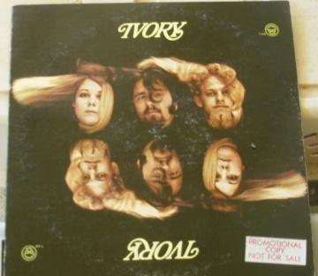 Ivory vinyl LP 1968 Los Angeles band promotional copy, jazz rock, Chris Christman, psychedelic rock