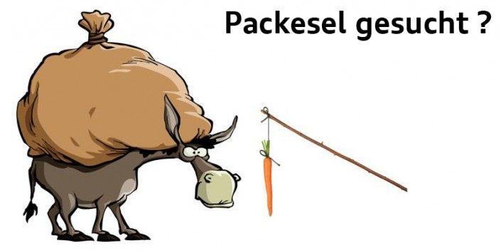 Packesel gesucht ???