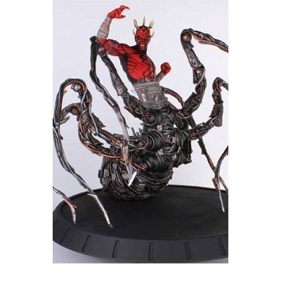 Gentle Giant Studios Star Wars: Darth Maul Spider Statue by Gentle Giant LTD - Toys @ niftywarehouse.com #NiftyWarehouse #Geek #Products #StarWars #Movies #Film