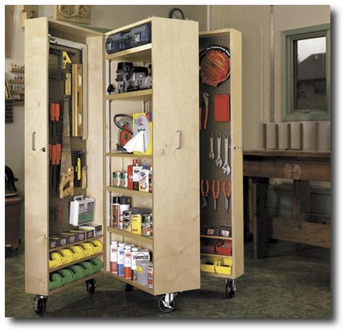 Woodworking Tool Cabinet Wood Craft Tools Garage