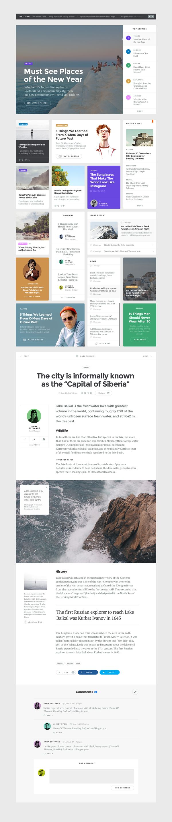 https://dribbble.com/shots/1830641-Baikal-UI-Kit-Blog/attachments/304729