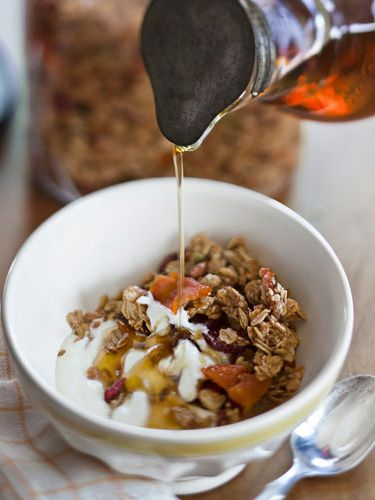 Maple Granola with Fruit and Nuts - GoodHousekeeping.com
