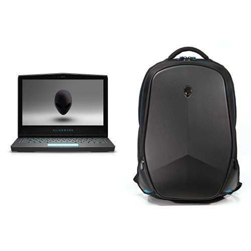 "Alienware AW13R3-7420 13.3"" Laptop Bundle with Vindicator 2.0 Backpack"