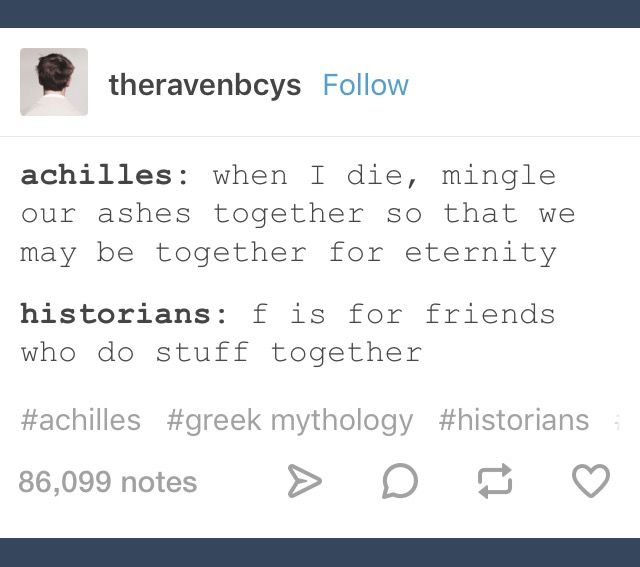 U is for you and me <<< N is for anywhere anytime at all out here in Ancient Greece