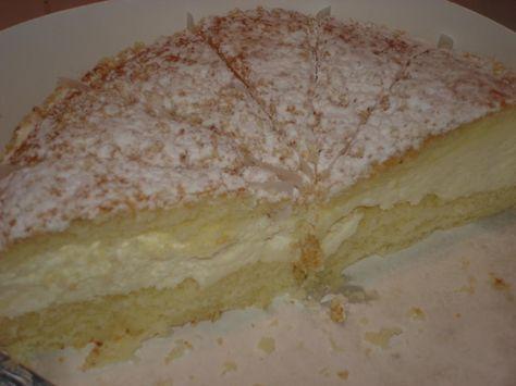 Italian Cream Cake - supposed to be similar to Cheesecake Factory