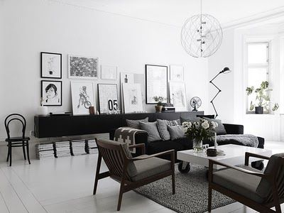 I'd need some color but the arrangement -- floor plan, art work, etc. is perfect.