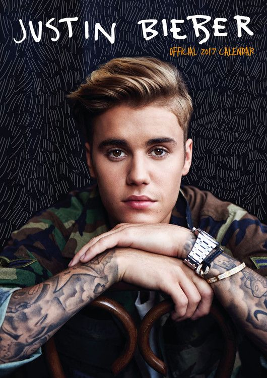 Justin Bieber - Calendars 2017 on EuroPosters