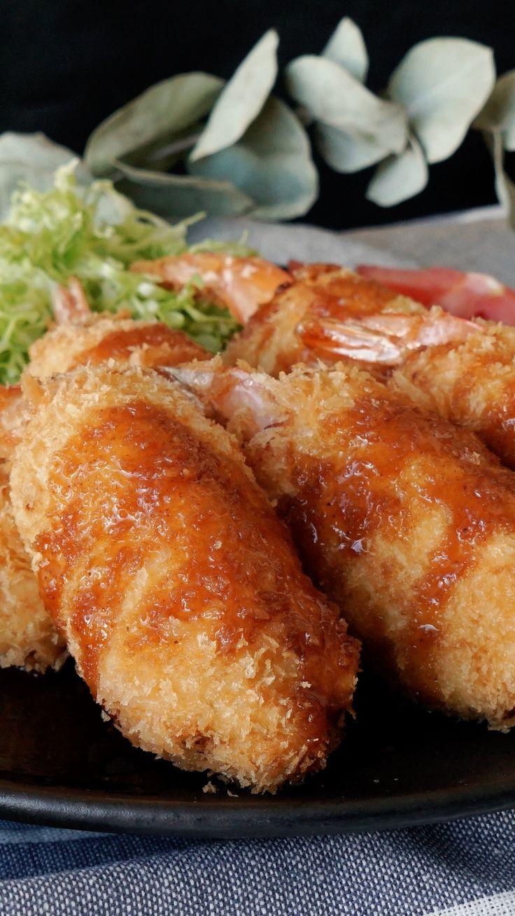 かさ増しで大きなエビフライ ~ レシピ | Tastemade