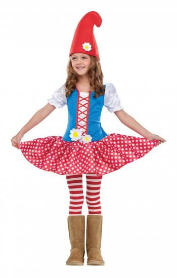 Ab in den Fasching mit dem Kinderkostüm Zwergen Mädchen #kostum #costume