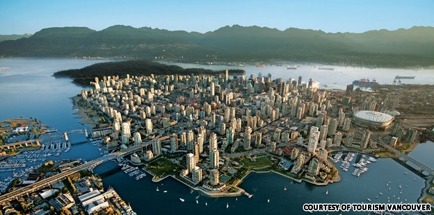 Here's what you likely know about Vancouver: it's pretty. You can ski, snowboard, hike, camp, kayak, golf and go to the beach.