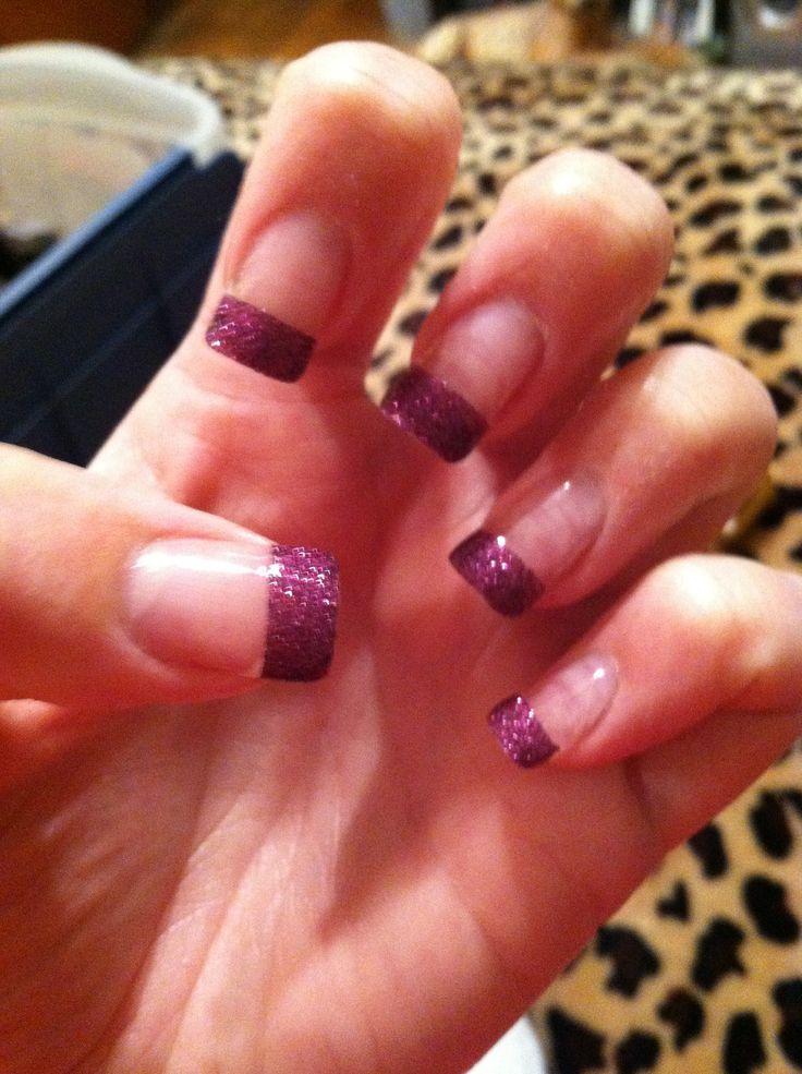 My friend Lisa's pretty nails.