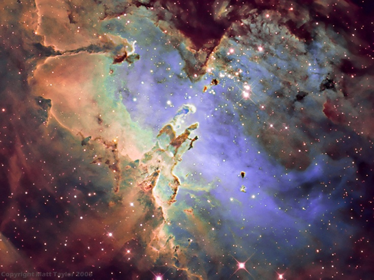 M16 - The Eagle Nebula. This is the last photo that I publlished due to finding to many of them being used for advertising by retailers of astro gear,