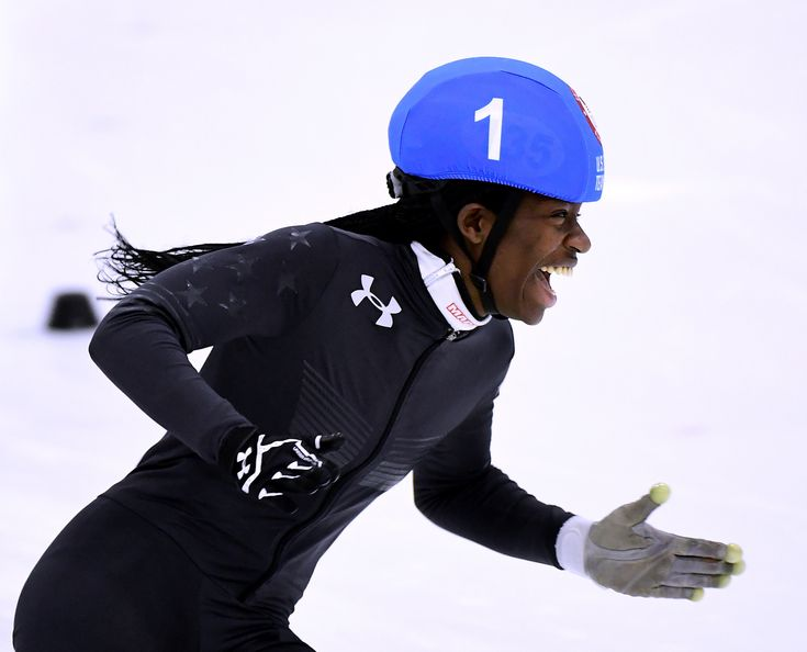 Meet Maame Biney, The First Black Woman To Make The U.S. Olympic Speedskating Team | HuffPost