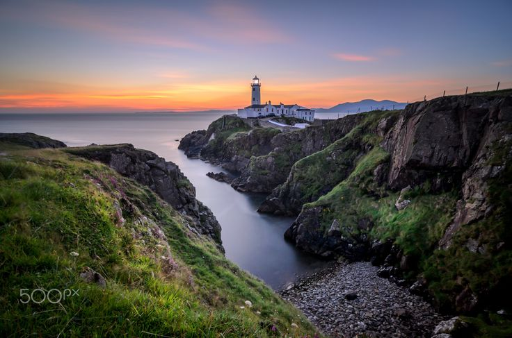 """New Light -  Sunrise at Fanad Head Lighthouse - Sunrise at Fanad Head Lighthouse, Co. Donegal, Ireland. I'm reeeeally not a morning person but being so near to this location on a trip away, getting up at 4.30am was not an issue and so worth it. :)  Stay in touch: <a href=""""https://www.facebook.com/kathrynconwayphotography"""">Facebook Page</a>, <a href=""""https://instagram.com/conwaykathryn/"""">Instagram</a> or <a href=""""https://twitter.com/kcgrasshopper/"""">Twitter</a>"""