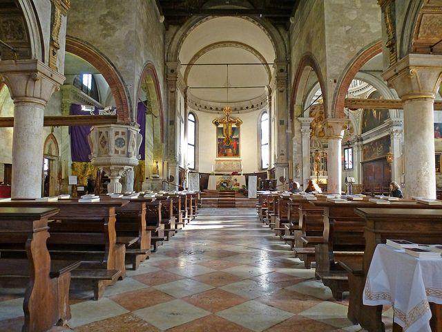 venice italy chiesa of san giacomo dall 39 orio nave by via flickr chiesa di san. Black Bedroom Furniture Sets. Home Design Ideas