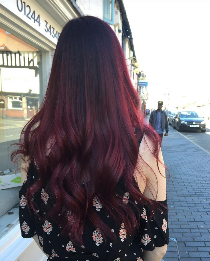 50 Vibrant Red Hair Color Ideas — Violet, Deep Dark, Light Burgundy and More Check more at http://hairstylezz.com/best-red-hair-color-ideas/