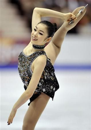 Yuna Kim...inspiring for her utmost dedication.