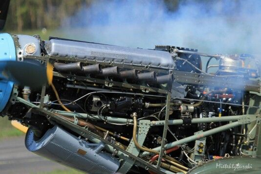 Merlin engine -  Spitfire MK IX T9