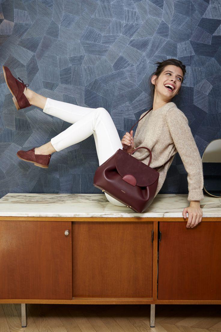 Numéro Un - Édition Trio Bordeaux - 290€  www.polene-paris.com  #handbag #fashionstyle #newbrand #parisianstyle #bagaddict #fashionista