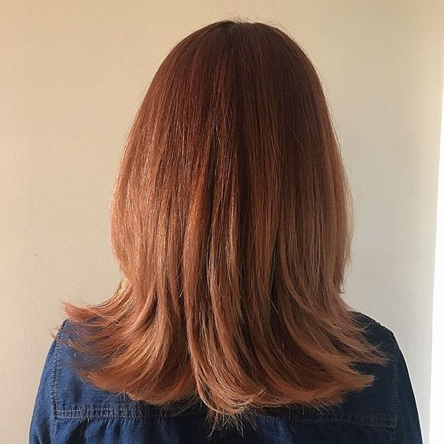 Beautiful multi-toned copper colour. Hair by Museo.    #hairbymuseo #museoperth #perthhairdresser #copperhair