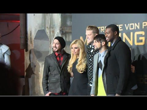 Pentatonix - Hunger Games: Mockingjay P1, Berlin Premiere (Promiflash Interview) - YouTube