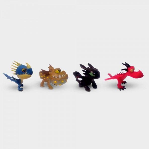 Monopoly Junior - Dragons Collectors Edition. Wer ist der beste Drachen-Zähmer? Die Spielfiguren: Ohnezahn, Wechselflügler, Fleischklops und Sturmpfeil!