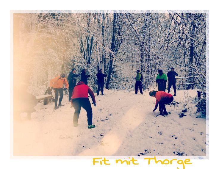 Ach, wisst Ihr noch gestern um diese Zeit...?! :) #vollgas2015 #fitmitthorge #training #training #traininsaiyan #mudmasters #winter #winterwonderland