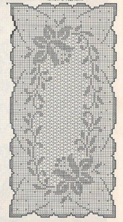 World crochet: Tablecloth 95