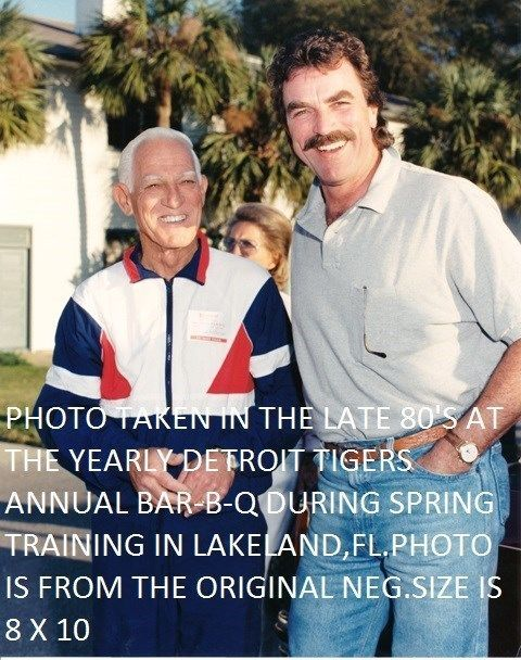 Tom Selleck And Sparky Anderson 8 X 10 Photo Detroit Tigers Spring Training FL | Collectibles, Photographic Images, Contemporary (1940-Now) | eBay!